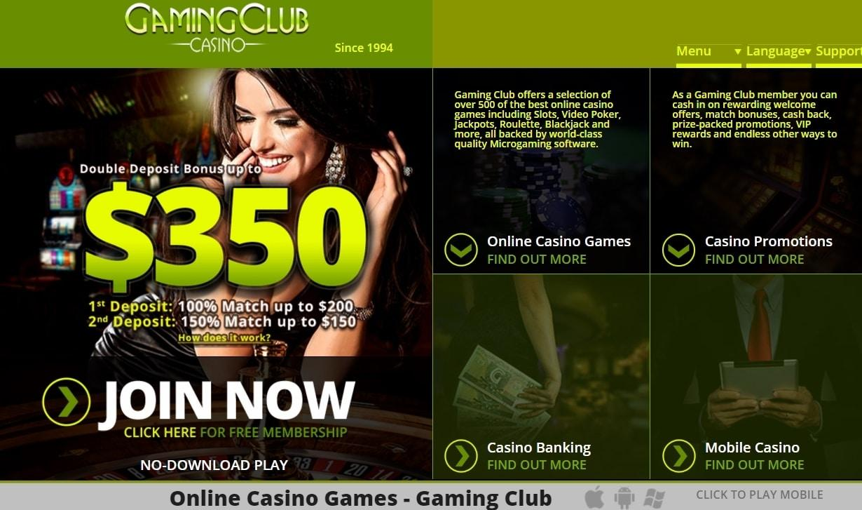 gaming club casino live chat