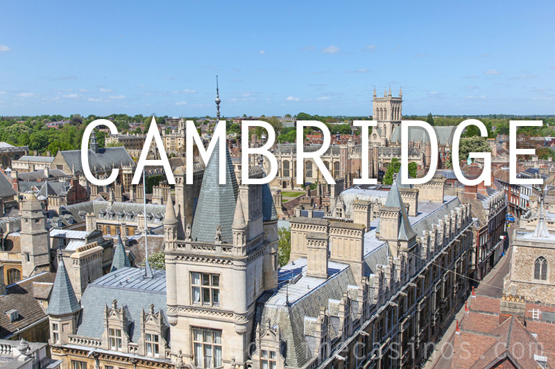 Online casinos for players in Cambridge UK