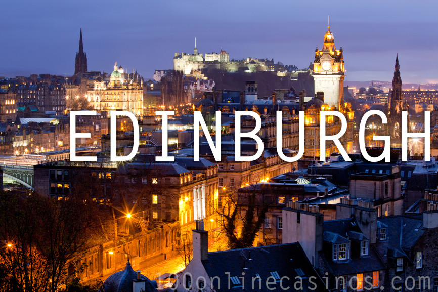 Edinburgh online casinos UK