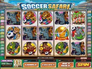 soccer safari game