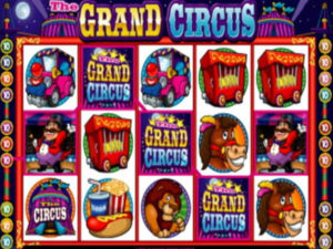 grand circus pokie