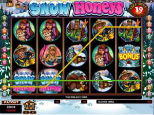 snow honeys game