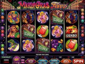 marid gras fever game
