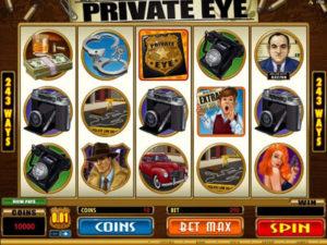 private eye pokie